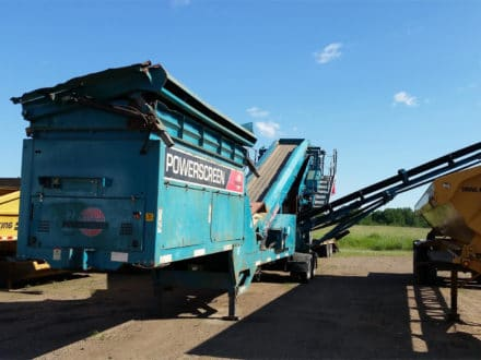 2012 POWERSCREEN CHIEFTAIN 1400S