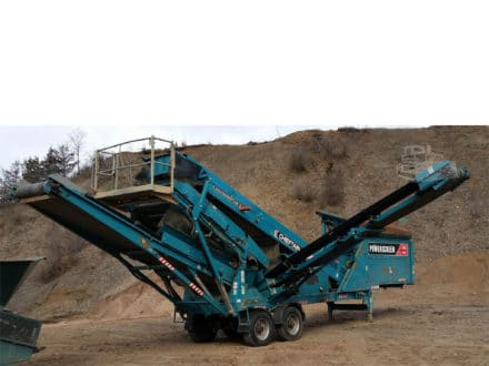 2013 POWERSCREEN CHIEFTAIN 600