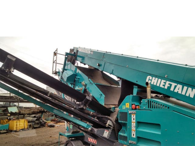 2014 POWERSCREEN CHIEFTAIN 600