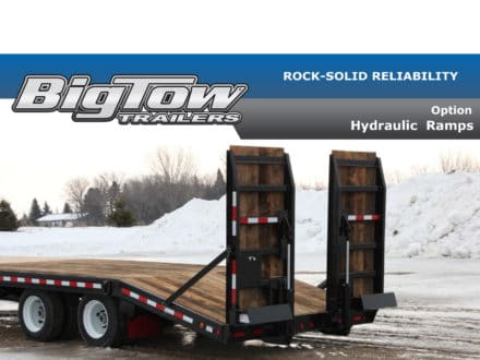 Big Tow -- HYDRAULIC RAMPS