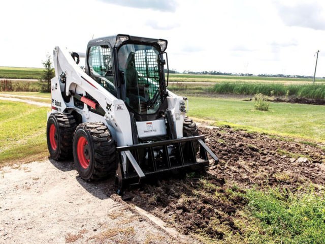 Bobcat A770 All-Wheel Steer Loader