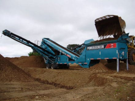 Powerscreen Chieftain 1400 (Wheel)