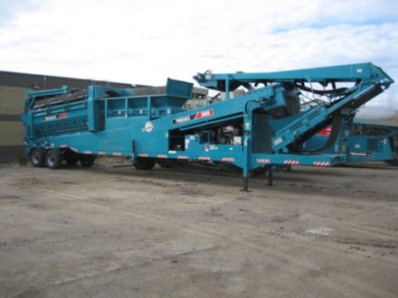 Powerscreen Phoenix 1600 Trommel Screen