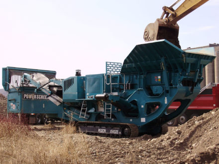 Powerscreen® Premiertrak R400 (Jaw)