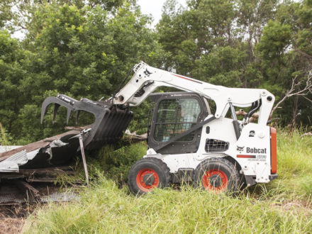 Bobcat Grapple, Root